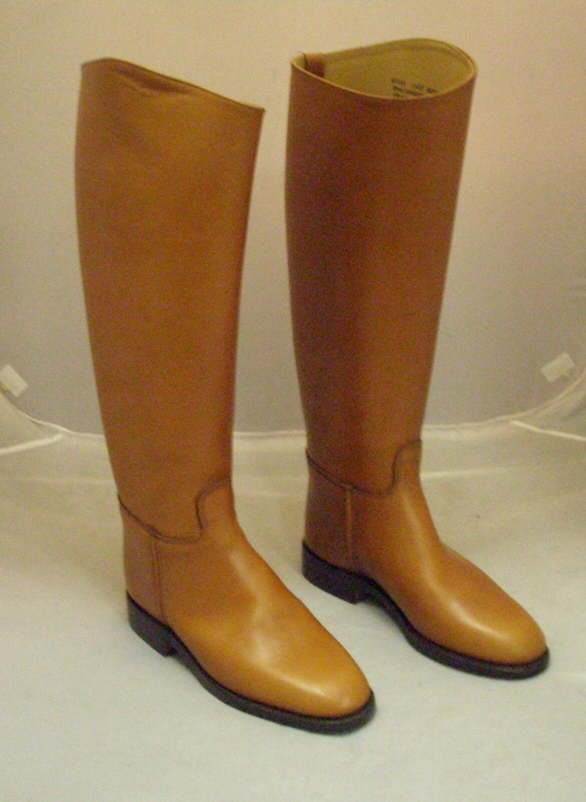 Regent Royale Long Leather Riding Boot Brown Tan Size  5 Short Wide  take up to 70% off