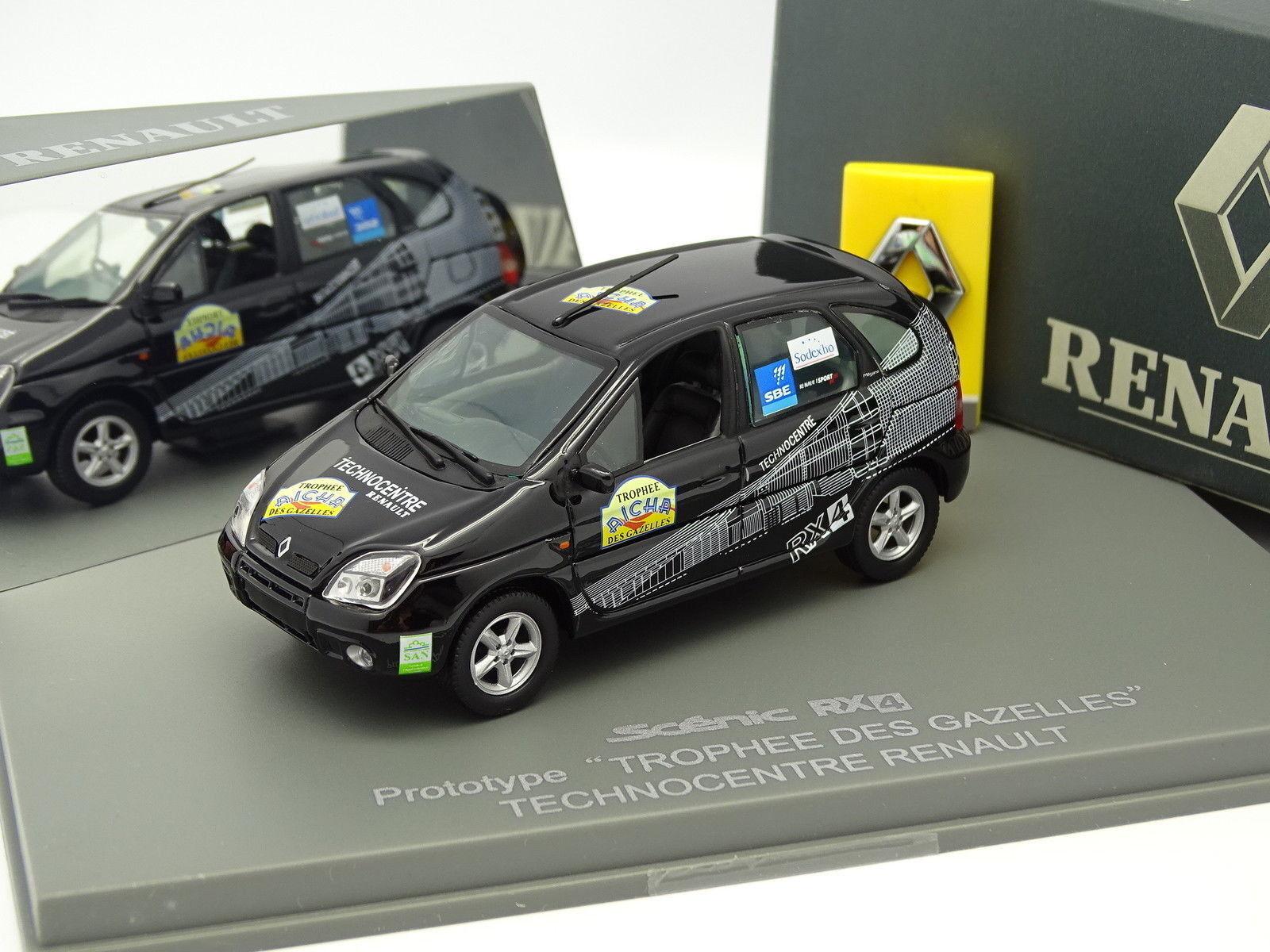 - 1   43 - renault scenic RX26760 prototipo rallye gazzelle technocentre schwarz