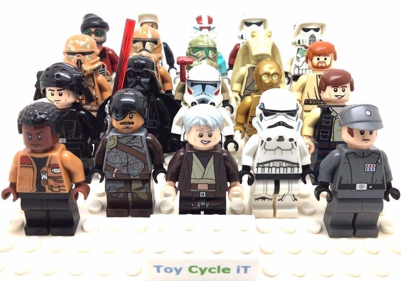 LEGO Genuine Star Wars Minifigures From Vader Luke Imperial Han Solo Obi SWE