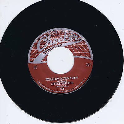 LITTLE WALTER - MELLOW DOWN EASY (Hot Chicago Harmonica Blues Bopper) REPRO