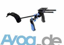 Aluminium Schulterstativ Video Stabilizer  VR40 f. Camcorder Video-DSLR Kamera
