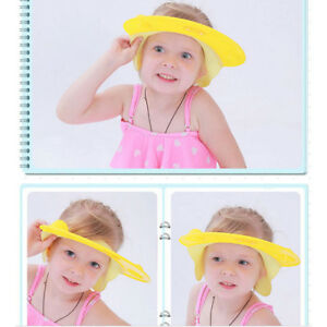 Image Is Loading Baby Shower Hat Shampoo Caps Hair Washing Hats
