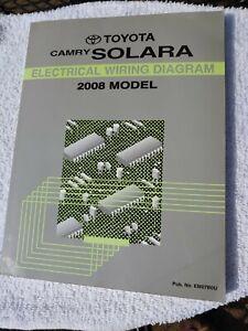 2008 TOYOTA CAMRY SOLARA ELECTRICAL WIRING DIAGRAM   eBay