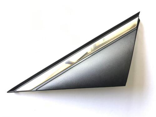 Fender Corner Chrome Molding 15-16-17 Sonata Left Driver Mirror Trim Matt Black