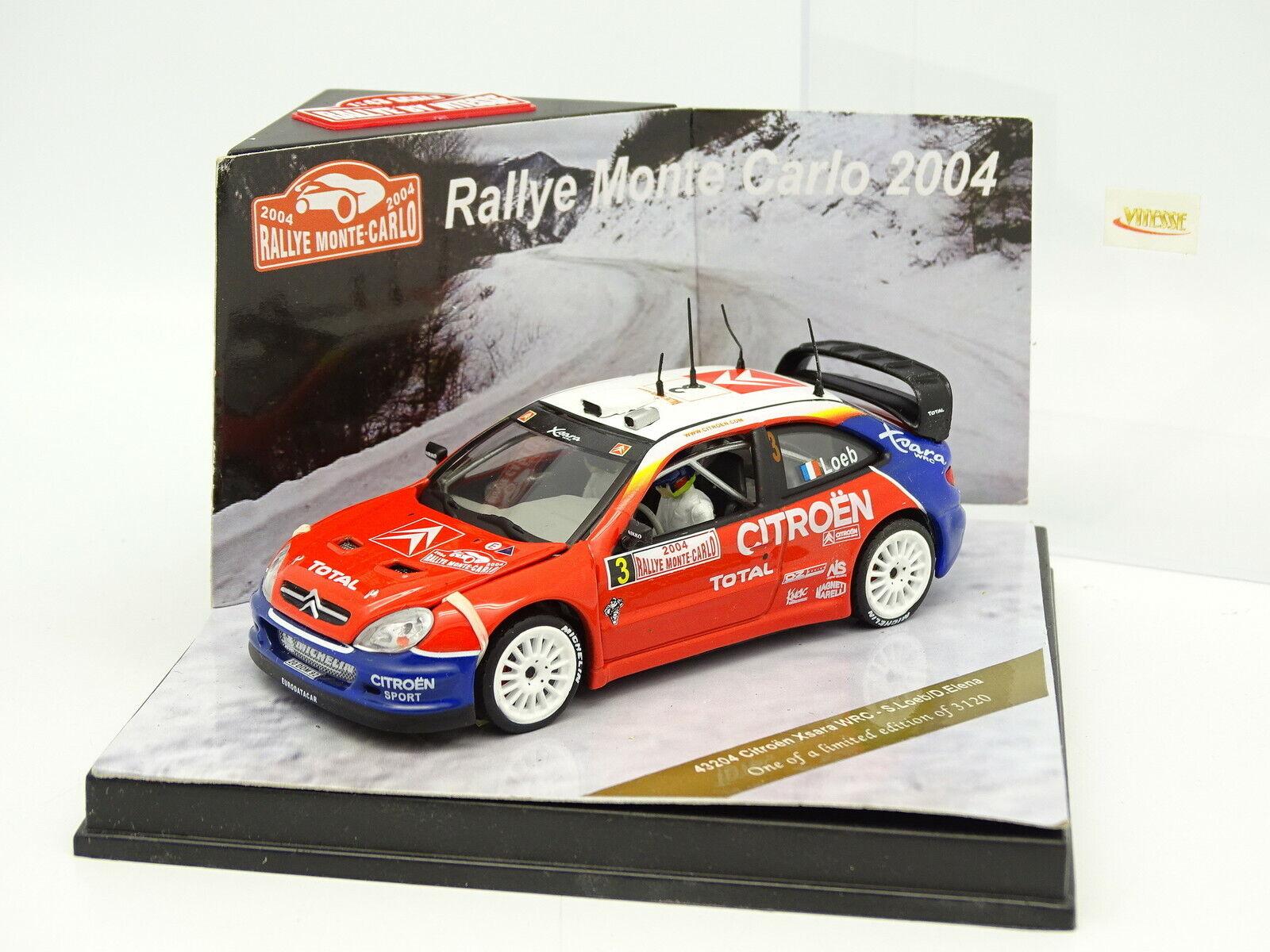 comprar mejor Velocidad 1 43 - Citroen Xsara WRC Rallye Monte Monte Monte Cochelo 2003  buen precio