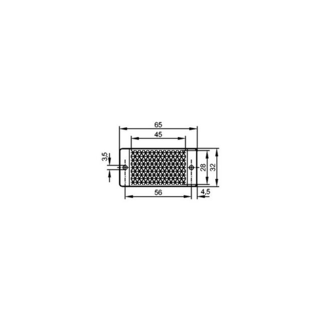 IFM E20452 TS-45x28 Reflector TS 45x28 TS31x46 000325
