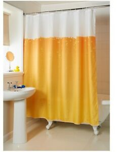 Image Is Loading New Beer Shower Curtain Bathroom Bath Home Decor