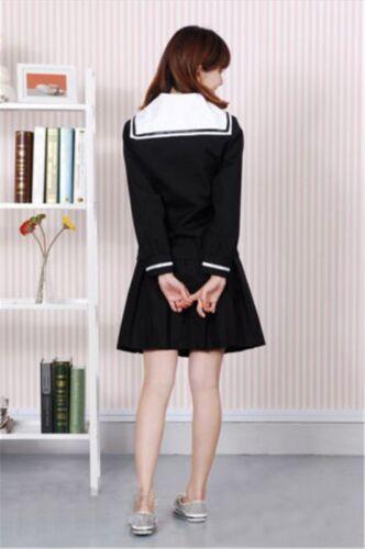 Hell Girl//Jigoku Shoujo Ai Enma School Sailor uniform cosplay Costume dress
