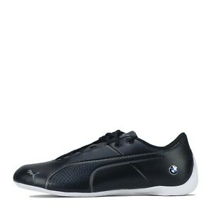 Puma-BMW-Motorsport-future-cat-Ultra-Hommes-En-Cuir-Baskets-Noir