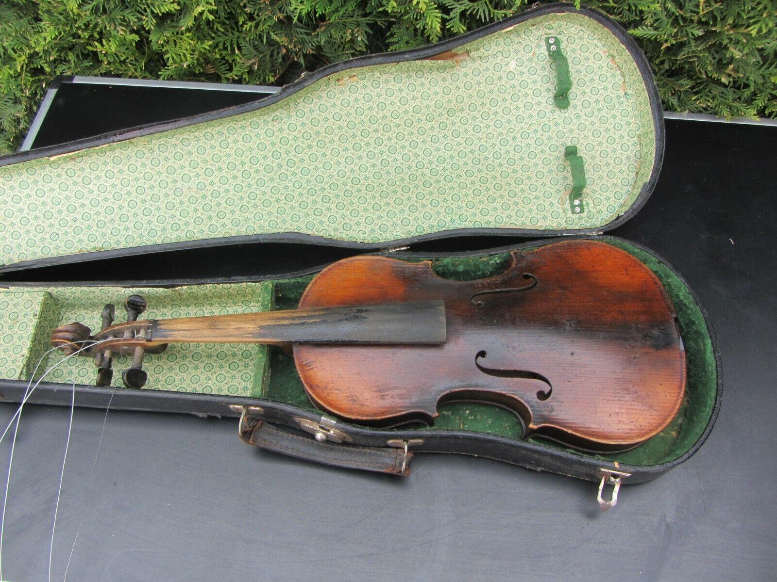 Alte Geige Violine ca. 59,7 cm Full Größe