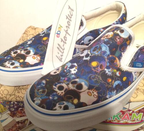 Slip 8 Bleu Sz 11 Us 2015 Uk6 Vans Crâne 9 On Murakami 10 Takashi 7 X wqpIRTzO