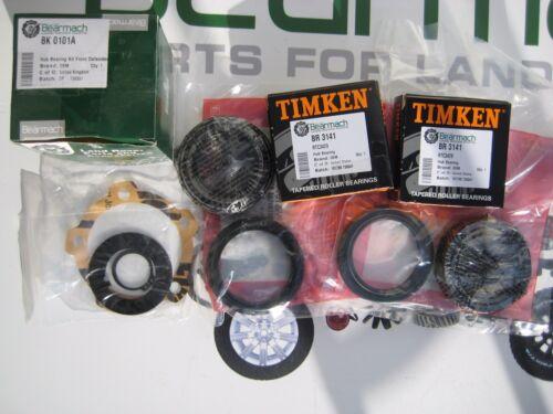 Front Wheel Bearing Kit 1986-93 OEM TIMKEN BK 0101A 110 Land Rover Defender 90