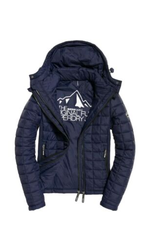 Box Womens Hooded Superdry 89 Fuji Quilt Rrp Giacca Size invernale £ 99 New Xl Wpz8Yqw0