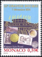 Monaco 2014 Coins/Stamps/Postcards/Exhibition/Buildings/Stamp-on-Stamp 1v mc1061