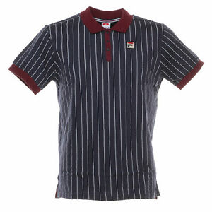 Polo-Vintage-shirt-uomo-FILA-mod-3920530706-classic-M-C-100-Cotone-Col-M-Blue