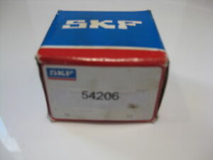 54206-Double-Direction-Thrust-Ball-Bearing-with-Sphered-Housing-Washers-SKF