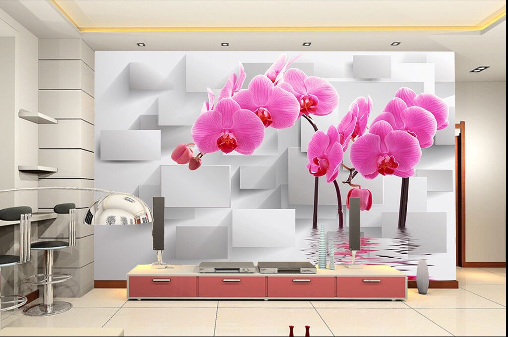 3D Blaumen Blaumen Blaumen Wasser Raum 895 Tapete Wandgemälde Tapeten Bild Familie DE Jenny    Großartig    Lebendige Form    Verschiedene  202e6a