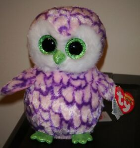 TY Beanie Boo 6 ~ Pipper the Owl ~ Claires Exclusive