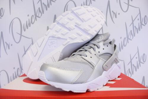 704830 10 008eac5d28c1f1511d513db14f24eb56870 Nike Metallic Huarache Run Silver Sz White Premium 5 Air PkiuTOZX