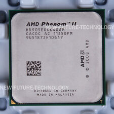 AMD Phenom II X4 905e (HD905EOCK4DGM) CPU Processor 667/2.5 GHz AM3 100% Work