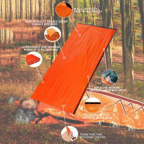 Reusable Sleeping Bag Emergency Waterproof Survival Travel Camping Nobby Modern