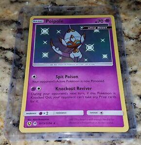 NM//M Poipole SV19//SV94 Hidden Fates Pokemon Shiny Holo Rare