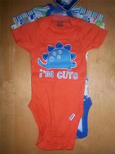 ffc5aaba84f Image is loading 3-New-Gerber-Boy-039-s-Onesies-Baby-