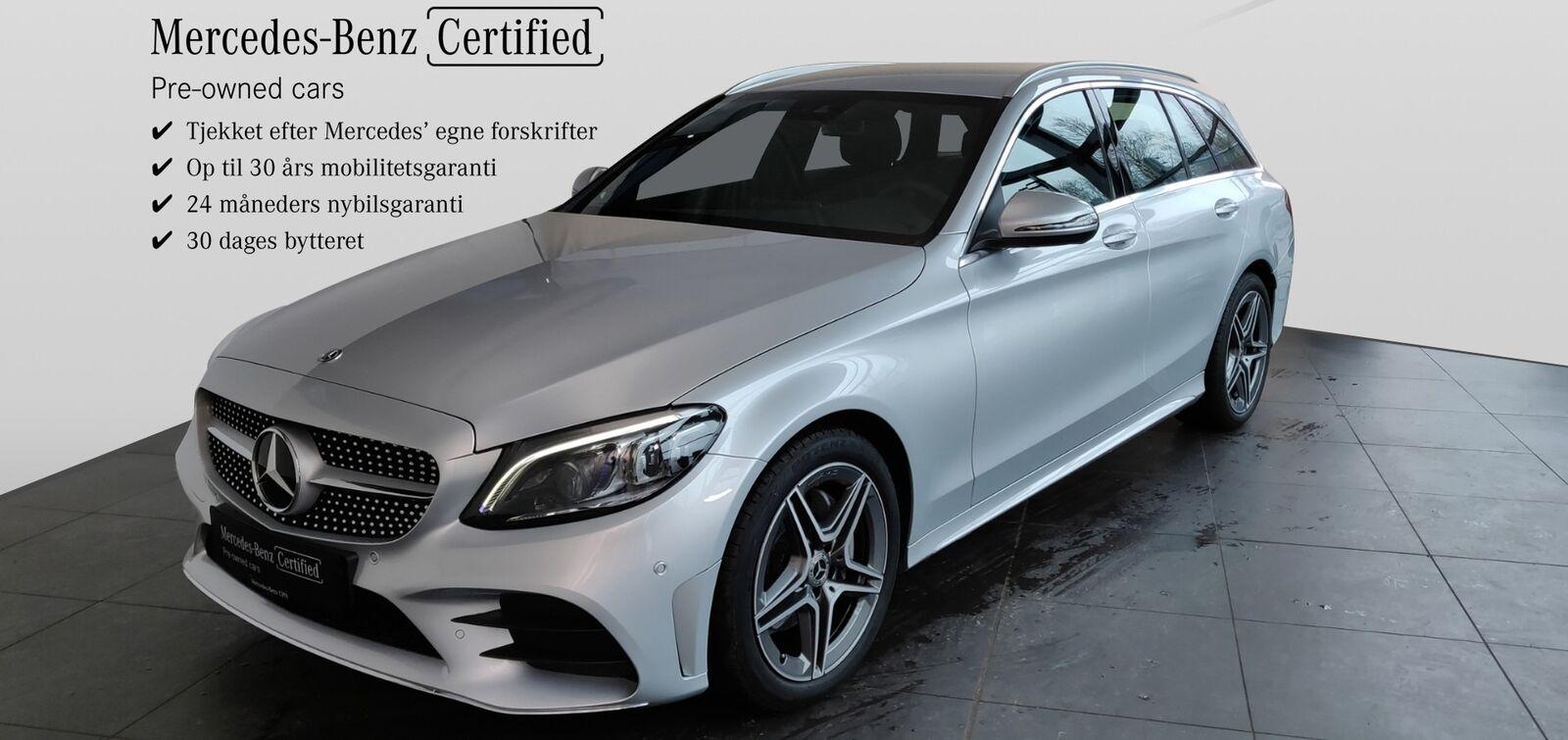 Mercedes C200 1,5 Advantage AMG stc. aut. 5d - 479.900 kr.
