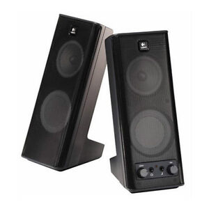 3b445cac994 Image is loading Logitech-X-140-2-0-Speakers-System