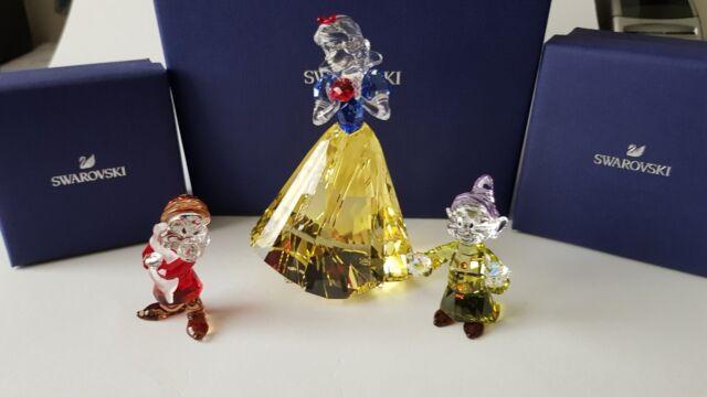 ff7305d765910 Swarovski Crystal, Disney Snow White Lim-Ed 2019, SCS Dwarf Grumpy, Dwarf  Dopey.