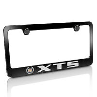 Cadillac Xts Black Metal License Plate Frame, Official Licensed, Warranted on sale