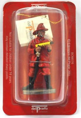 "Soldier Firefighters Fireman /"" Tip Arenas Chile 1995 Del Prado BOM086"