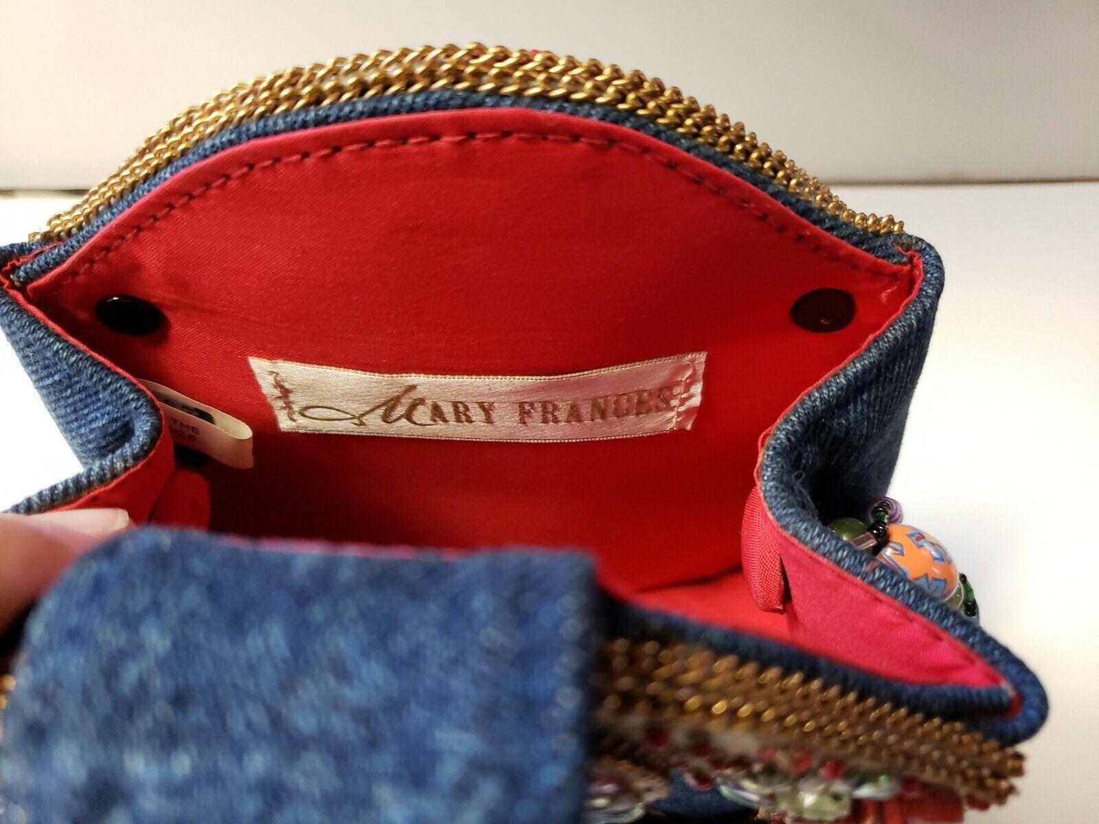 Mary Frances Butterfly Purse Handbag - image 3