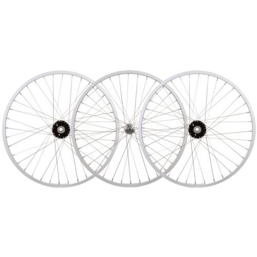 Wheelset 24X1.75 Alloy Silver 36 Trike 15mm w//Bearings