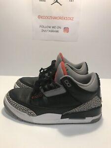 Nike 2018 Air Jordan 3 Black Cement BC3