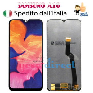 DISPLAY-LCD-SAMSUNG-GALAXY-A10-2018-SM-A105FN-A105DS-TOUCH-SCREEN-VETRO-SCHERMO