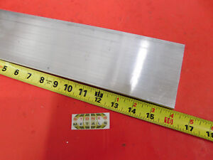 "1//2/"" X 4/"" ALUMINUM 6061 FLAT BAR 12/"" long T6511 .50/"" Plate NEW Mill Stock"