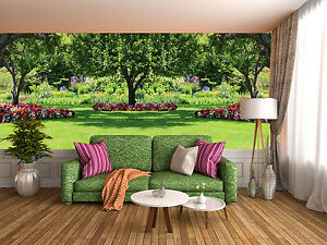 3D Lush Grass Tree 56 Wall Paper Wall Print Decal Wall Deco Indoor Wall