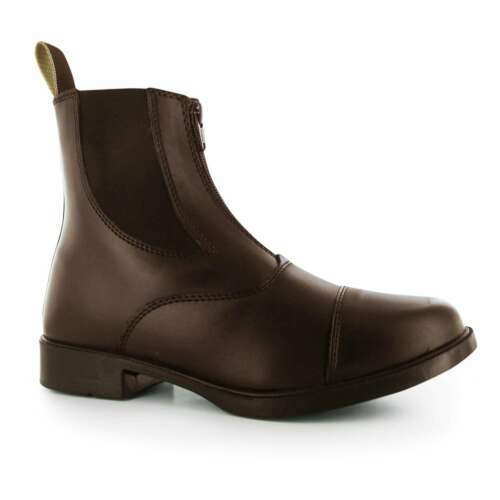 Requisite Womens Darwen Jodhpur Boots Pull On Leather Upper Everyday