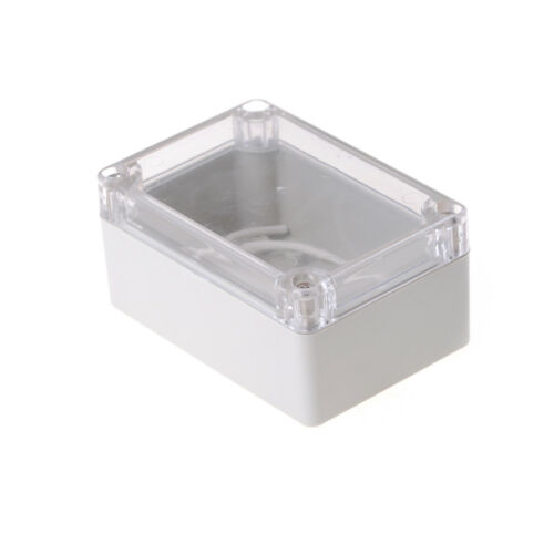 100x68x50mm Waterproof Cover Clear Electronic Project Box Enclosure Case  YN