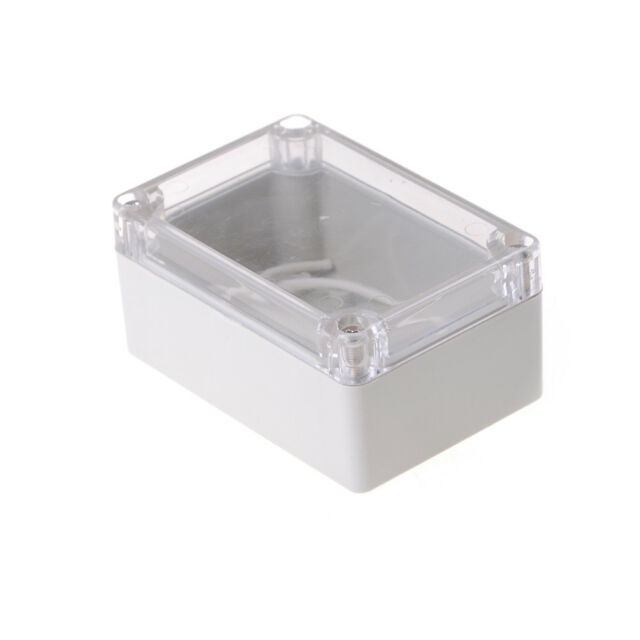 100x68x50mm Waterproof Cover Clear Electronic Project Box Enclosure Case  JH