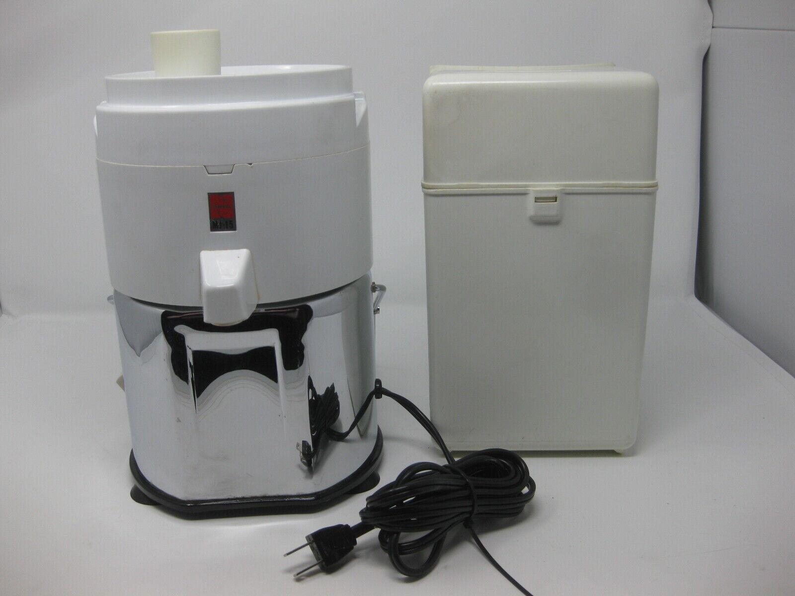 VINTAGE Panasonic centrifugeuse jus extracteur MJ-15 testé fonctionne RARE