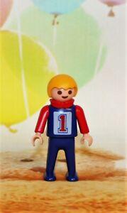 Playmobil-Puppe-Kinder-Figure-Figur-Figuren-Bub-Rennfahrer-InternNr-118