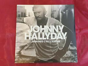 Mon Pays C'Est l'Amour de Johnny Hallyday (LP Vinyl, 2018, Warner Music)
