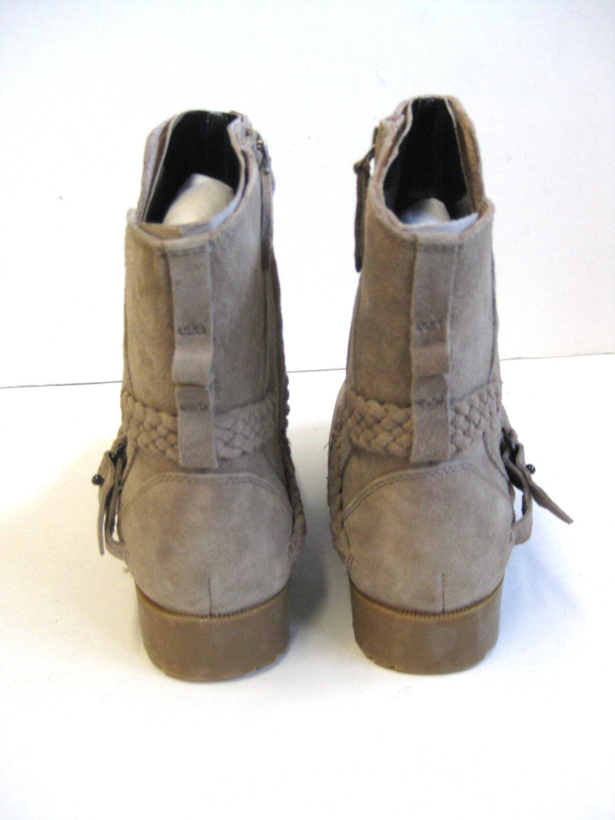 TEVA DE LA LA LA VINA WOMEN SHORT BOOTS SUEDE DESERT TAUPE US 7  UK 5  EU 38 02dd00