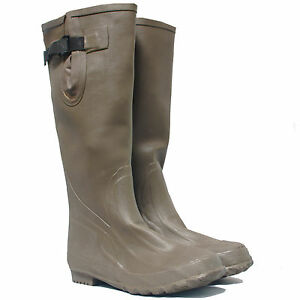 Every-Day-Carry-Tactical-Police-and-Military-Green-Waterproof-Rubber-Rain-Boots