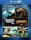 Journey to The Center of Earth 1&2 3d 0794043172427 Blu-ray Region a