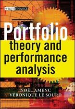 Portfolio Theory and Performance Analysis (The Wiley Finance Series)-ExLibrary