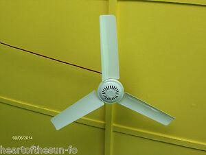 2two12 volt dc ceiling fans lightweight 20 inch 8 ft cord camping image is loading 2 two 12 volt dc ceiling fans lightweight aloadofball Gallery