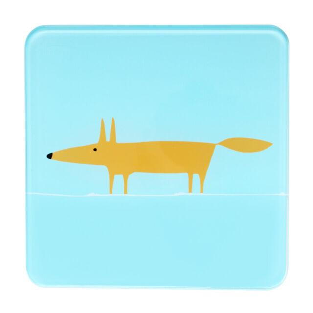 Scion Mr Fox Bleu Pot Plate-Forme Trépied Poêle Reste Résistant à la Chaleur